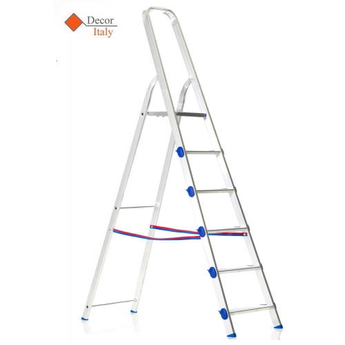 GOLDEN AL Aluminium Ladder with 6 Steps GOLDEN AL Aluminium Ladder with 6  Steps